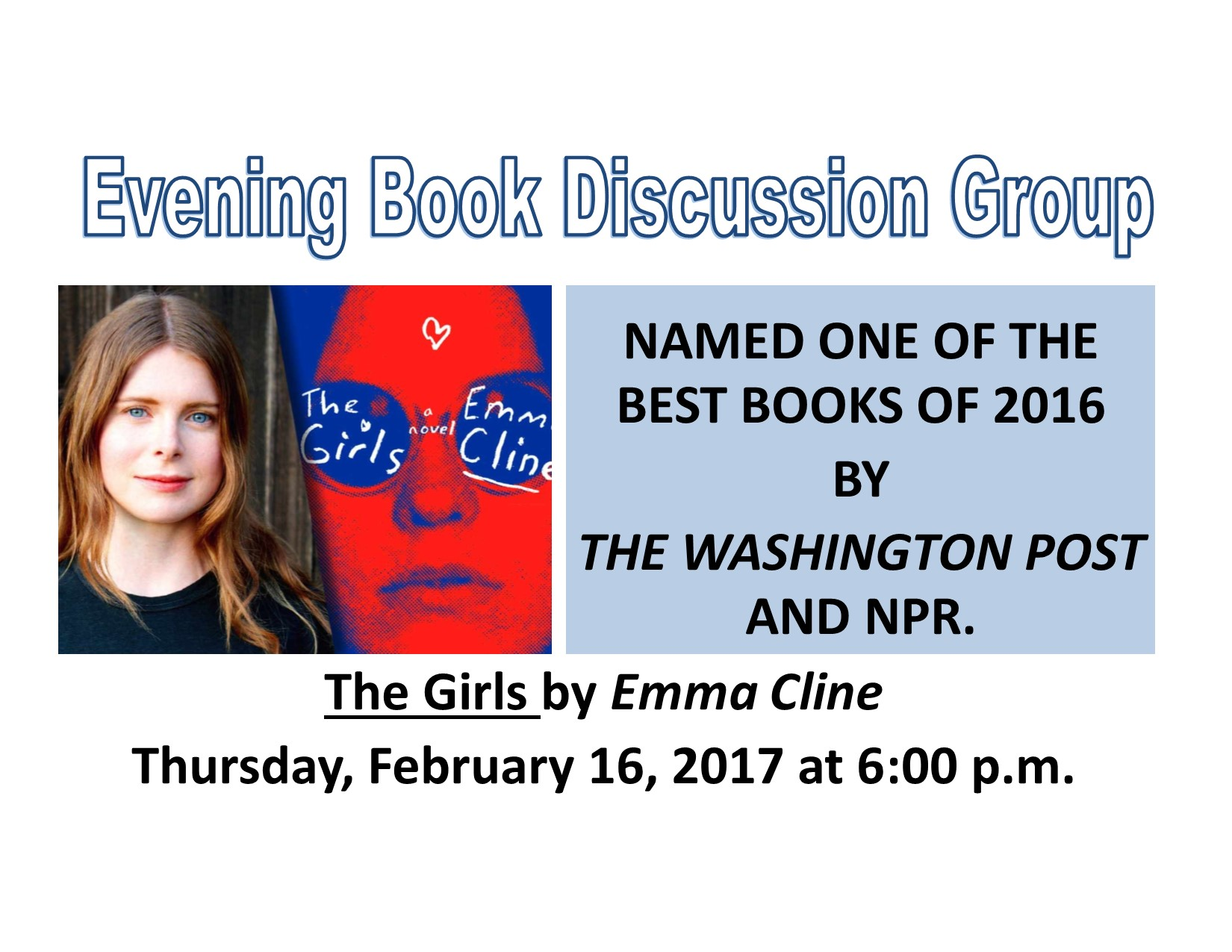 Evening Book Group | Reedsburg Public Library