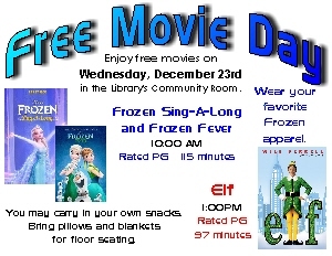 Free Movie Day | Reedsburg Public Library